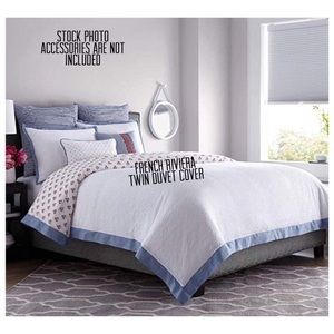 New Reversible Cotton Twin Duvet Cover FrenchStyle